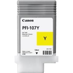 Cartridge do tiskárny Originálna cartridge Canon PFI-107Y (Žltá)