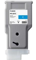 Cartridge do tiskárny Originálna cartridge Canon PFI-207C (Azúrová)