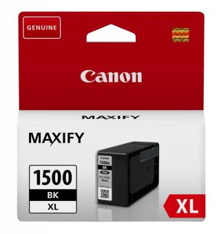 Originálna cartridge  Canon PGI-1500BK XL (Čierna)