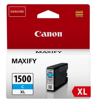 Originálna cartridge Canon PGI-1500C XL (Azúrová)