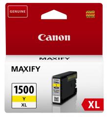 Cartridge do tiskárny Originálna cartridge  Canon PGI-1500Y XL (Žltá)