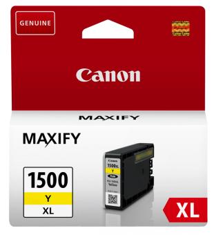 Originálna cartridge  Canon PGI-1500Y XL (Žltá)