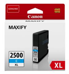 Cartridge do tiskárny Originálna cartridge Canon PGI-2500C XL (Azúrová)