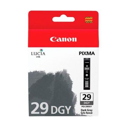 Originálna cartridge  Canon PGI-29DGY (Tmavo šedá)