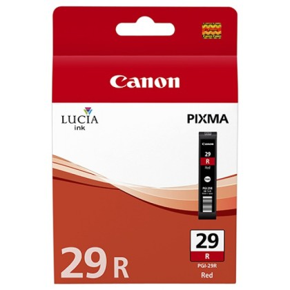 Originálna cartridge  Canon PGI-29R (Červená)