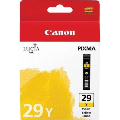 Originálna cartridge  Canon PGI-29Y (Žltá)