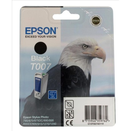 Originálna cartridge  EPSON T007 (Čierna)