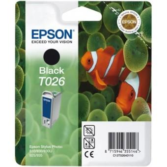 Originálna cartridge  EPSON T026 (Čierna)