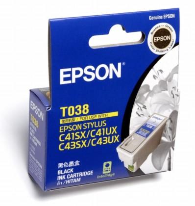 Originálna cartridge EPSON T038 (Čierna)