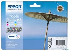 Sada originálných cartridge EPSON T0445 - obsahuje T0441-T0444