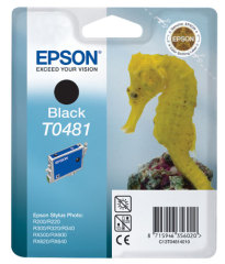 Cartridge do tiskárny Originálna cartridge  EPSON T0481 (Čierna)
