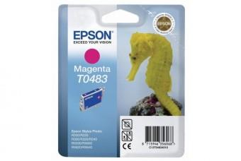 Originálna cartridge  EPSON T0483 (Purpurová)
