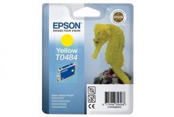Originálna cartridge  EPSON T0484 (Žltá)