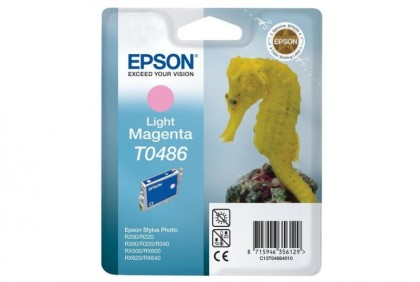 Originálna cartridge  EPSON T0486 (Svetlo purpurová)