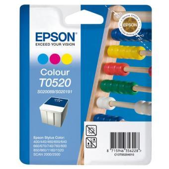 Originálna cartridge  EPSON T052 (T0520) (Farebná)