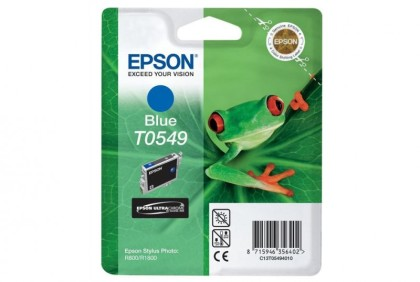 Originálna cartridge  EPSON T0549 (Modrá)