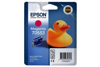Originálna cartridge  EPSON T0553 (Purpurová)