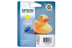 Cartridge do tiskárny Originálna cartridge  EPSON T0554 (Žltá)