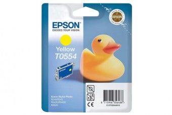 Originálna cartridge  EPSON T0554 (Žltá)