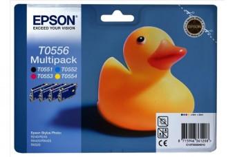 Sada originálných cartridge EPSON T0556 - obsahuje T0551-T0554
