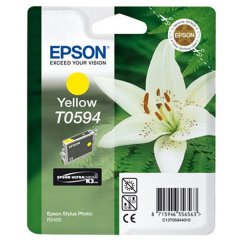 Cartridge do tiskárny Originálna cartridge  Epson T0594 (Žltá)