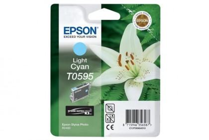 Originálna cartridge  Epson T0595 (Svetlo azúrová)