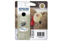 Cartridge do tiskárny Originálna cartridge  EPSON T0611 (Čierna)