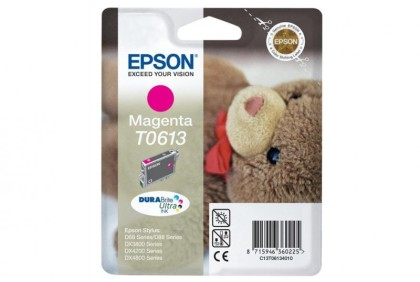 Originálna cartridge  EPSON T0613 (Purpurová)