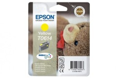 Cartridge do tiskárny Originálna cartridge  EPSON T0614 (Žltá)