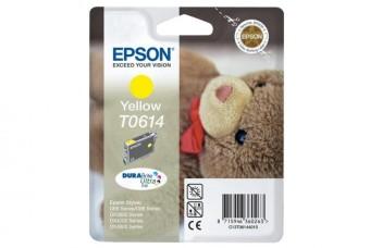 Originálna cartridge  EPSON T0614 (Žltá)