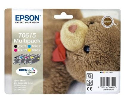 Sada originálných cartridge EPSON T0615 - obsahuje T0611-T0614