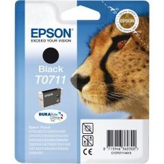 Cartridge do tiskárny Originálna cartridge  EPSON T0711 (Čierna)