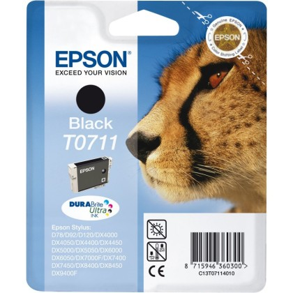 Originálna cartridge  EPSON T0711 (Čierna)