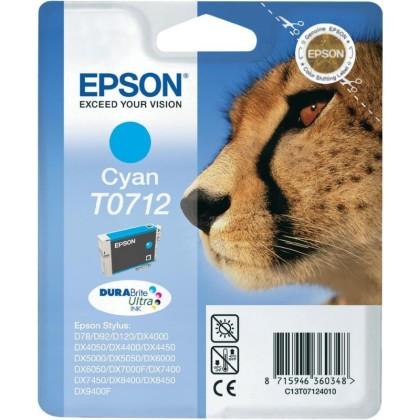 Originálna cartridge  EPSON T0712 (Azúrová)