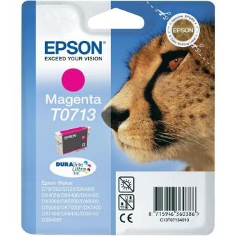 Originálna cartridge  EPSON T0713 (Purpurová)
