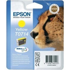Cartridge do tiskárny Originálna cartridge  EPSON T0714 (Žltá)