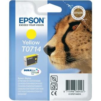Originálna cartridge  EPSON T0714 (Žltá)