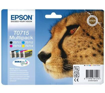 Sada originálných cartridge EPSON T0715 - obsahuje T0711-T0714