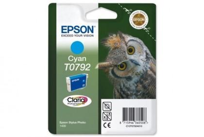 Originálna cartridge EPSON T0792 (Azúrová)