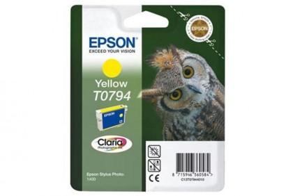 Originálna cartridge EPSON T0794 (Žltá)