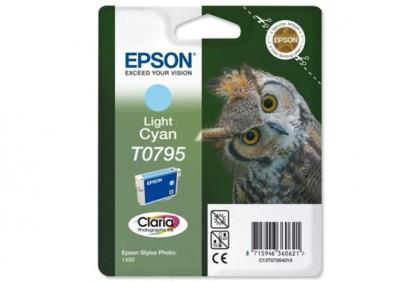 Originálna cartridge EPSON T0795 (Svetlo azúrová)
