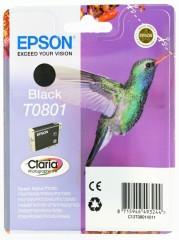 Cartridge do tiskárny Originálna cartridge  EPSON T0801 (Čierna)