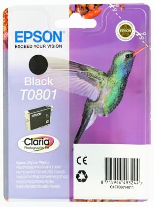 Originálna cartridge  EPSON T0801 (Čierna)