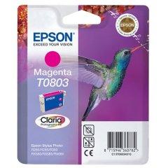 Cartridge do tiskárny Originálna cartridge  EPSON T0803 (Purpurová)