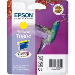 Cartridge do tiskárny Originálna cartridge  EPSON T0804 (Žltá)