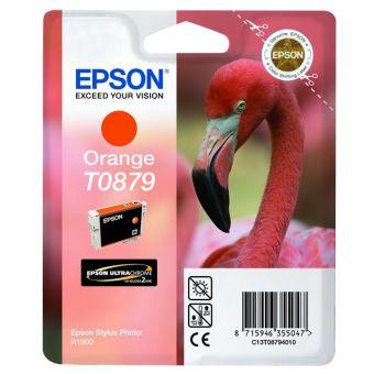 Originálna cartridge  EPSON T0879 (Oranžová)