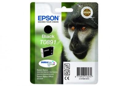 Originálna cartridge  EPSON T0891 (Čierna)