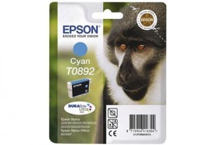 Originálna cartridge  EPSON T0892 (Azúrová)