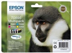 Sada originálných cartridge EPSON T0895 - obsahuje T0891-T0894