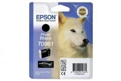 Cartridge do tiskárny Originálna cartridge EPSON T0961 (Foto čierna)